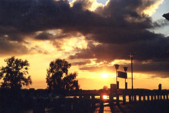 Elbeflut-Licht