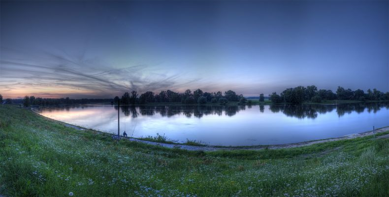 Elbekurve in Dessau