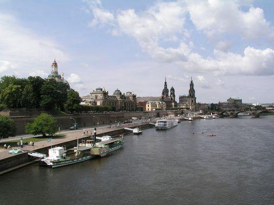 Elbflotte in Dresden
