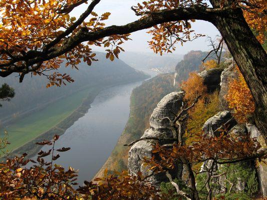 Elbtal im Herbstzauber (2)