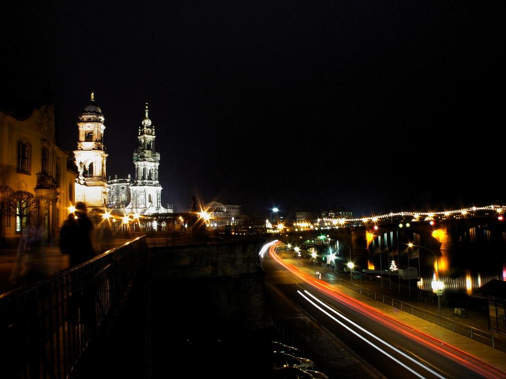 Elbufer in Dresden