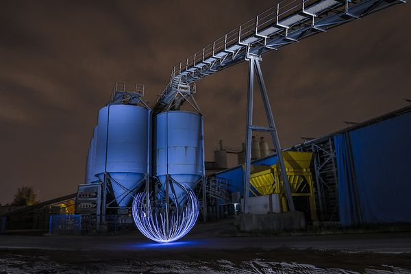 Electrical Movement in the Dark #133 Industrial Blue