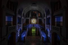 Electrical Movements in the Dark #257 - Entrance Hall at Midnight (2)