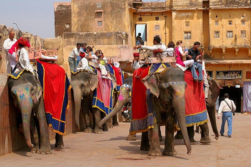Elefantenbahnhof