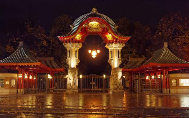 Elefantentor Zoologischer Garten