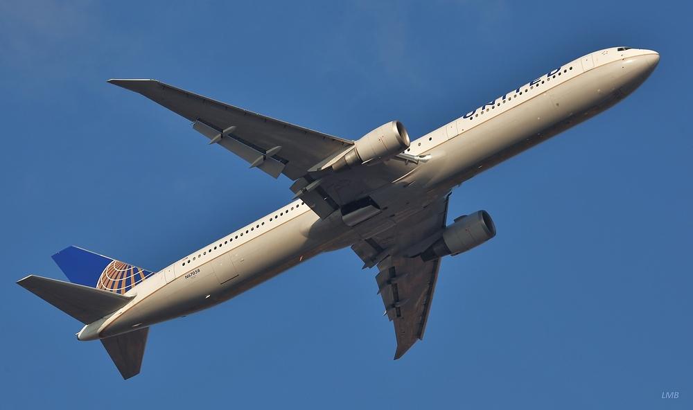 Elegantes Flugzeug