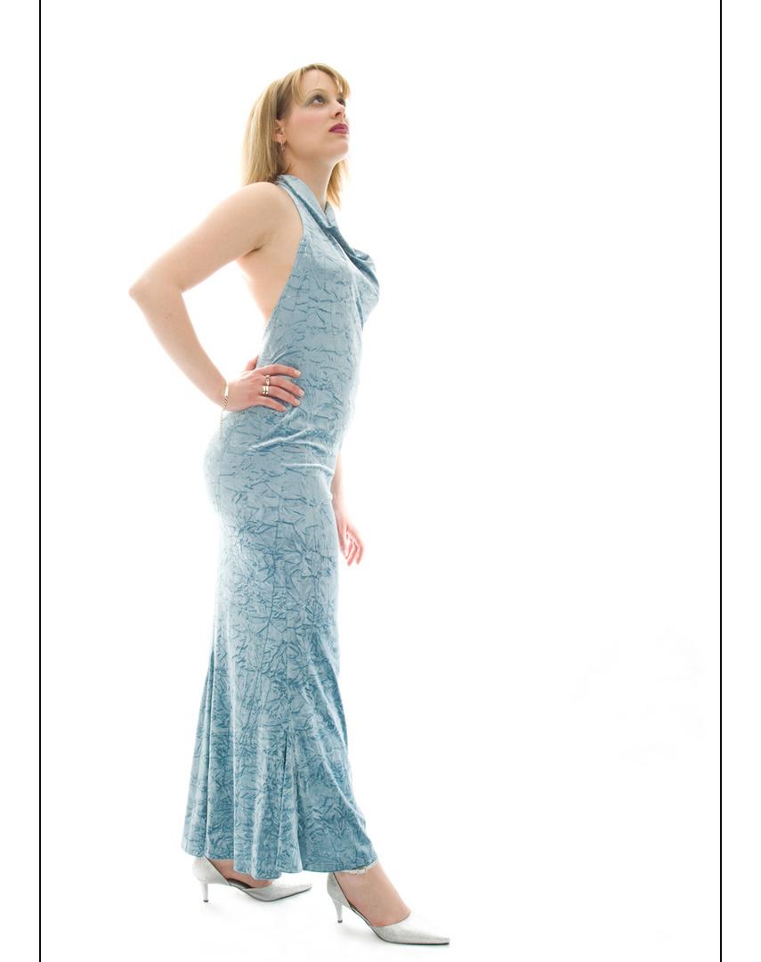 Eleganz in Blau