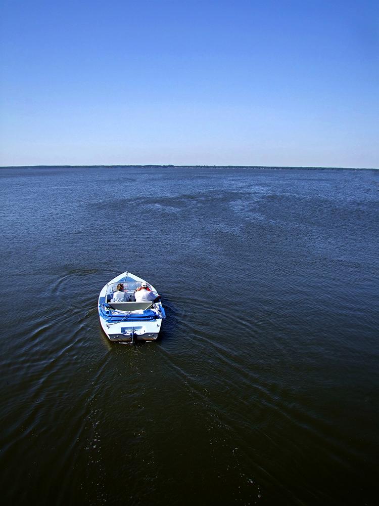 Elektroboot am Steinhuder Meer II