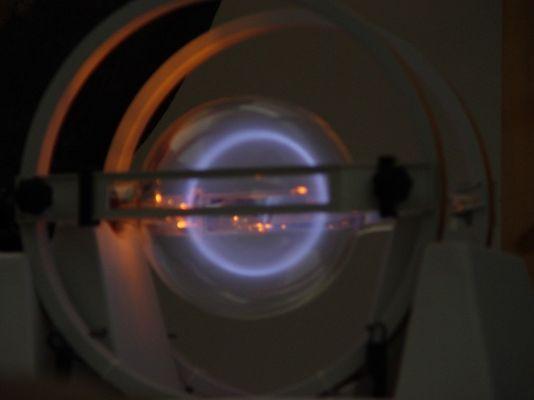 Elektronenstrahl im Fadenstrahlrohr