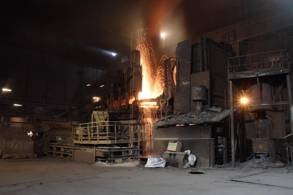 Elektrostahlwerk in Esch-Belval