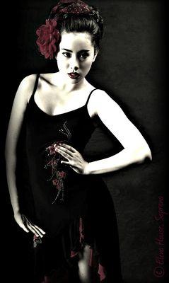 Elena House - Foto meiner Youtube-Freundin Elena in der BEA von mir mit PaintShop - VII