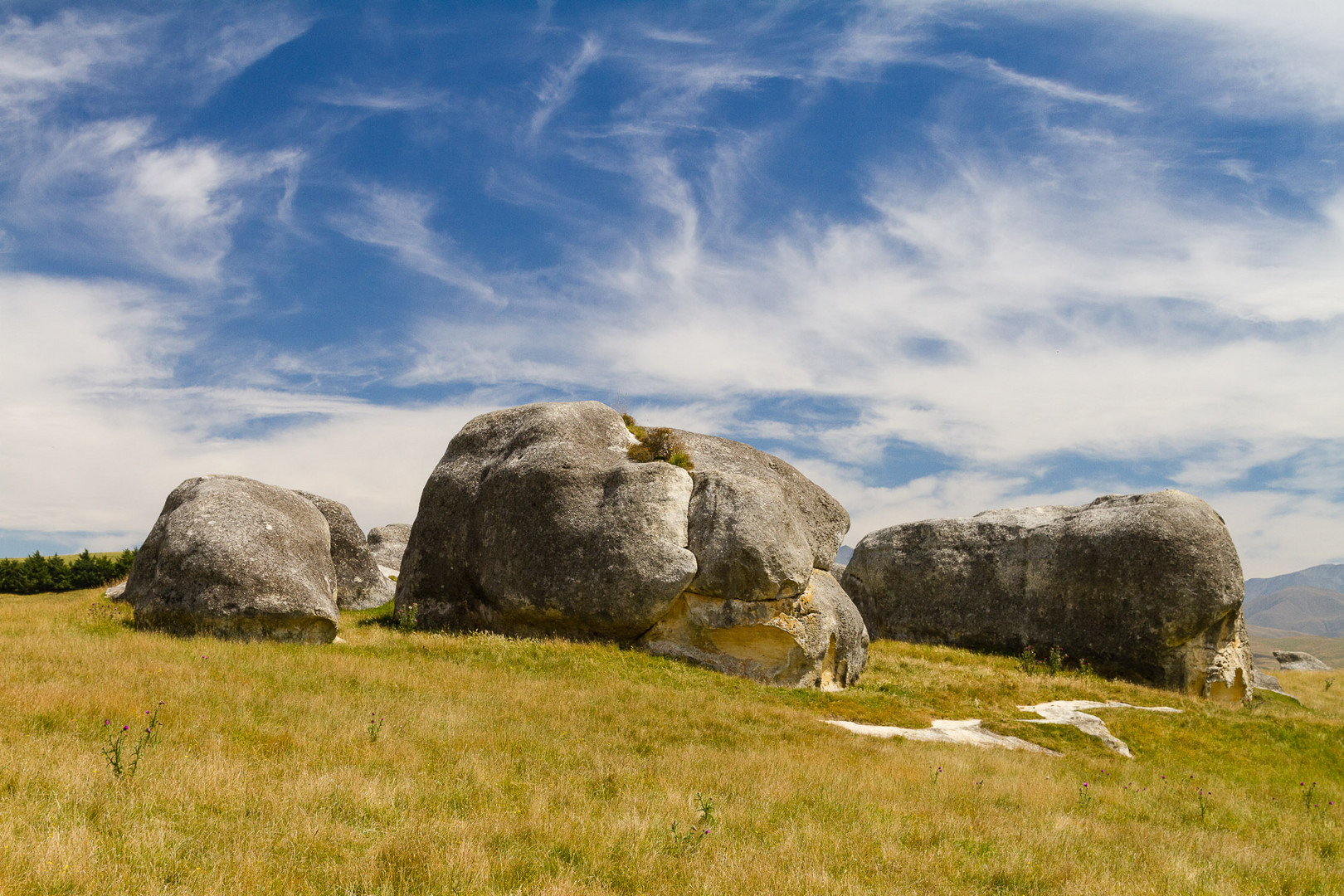 Elephant Rocks an der Island Cliff-Duntroon Road
