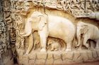Elephantenwand(Indien)