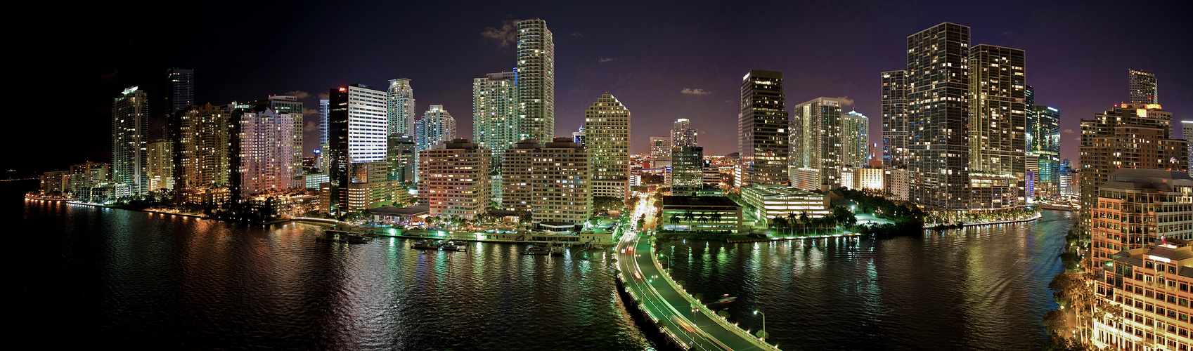 """""""Eleven Floor"""" Miami View by Night"""