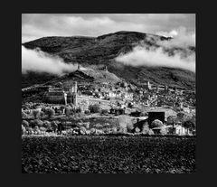Elio Ciol - Arrivando ad Assisi, Assisi 1990