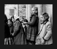 Elio Ciol - Aspettando la sposa, San Giovanni di Casarsa, 1958