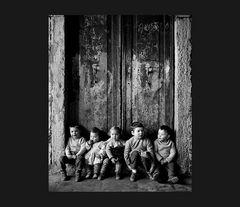 Elio Ciol - Bambini a Chioggia, 1959