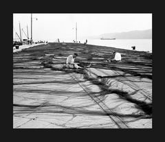 Elio Ciol - Rammendo delle reti, Trieste 1953