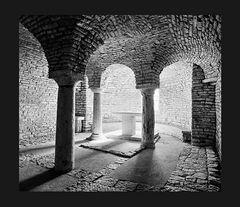 Elio Ciol - Tricora dell'Abbazia di San Benedetto, Assisi 1990
