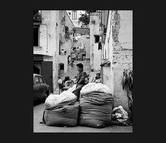 Elio Ciol - Venditore di lana, Amalfi 1957