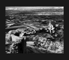 Elio Ciol - Verso la pianura, Assisi 1964
