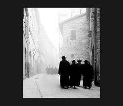 Elio Ciol - Via Portica, Assisi 1958