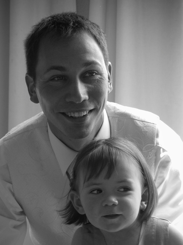 Elisa et son papa