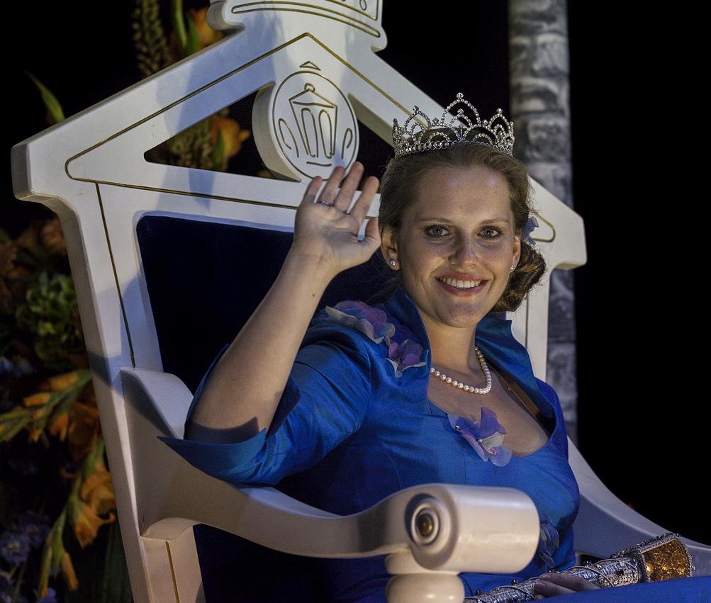 ELISABETH II - Laternenkönigin von Homburg