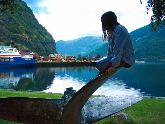 Elise in Noorwegen