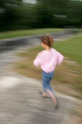 Elle court, elle court !!