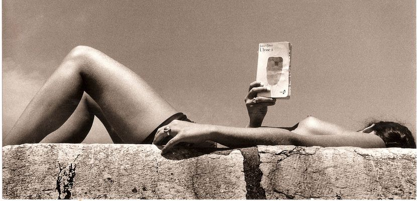elle lit ulysse