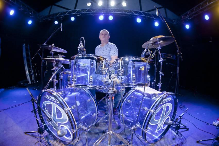 ELP - Schlagzeuger Carl Palmer