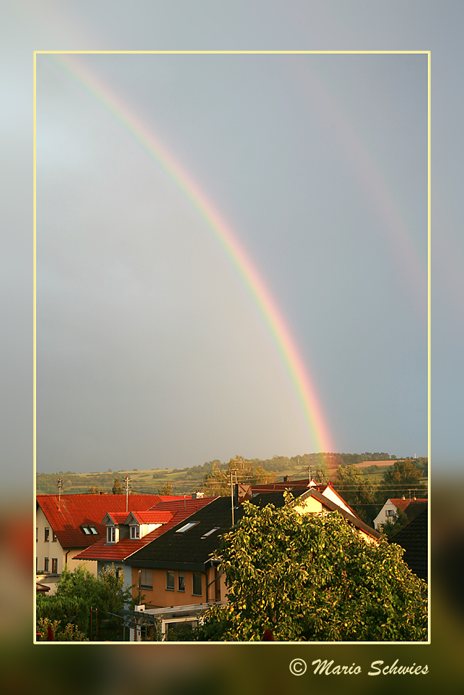 Elpersheim nach dem Regen