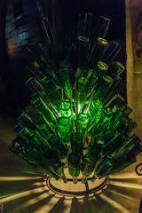 Els Calderers - Weinkeller - Flaschenständer