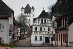 Eltville - Bahnhofstraße und Burgstraße