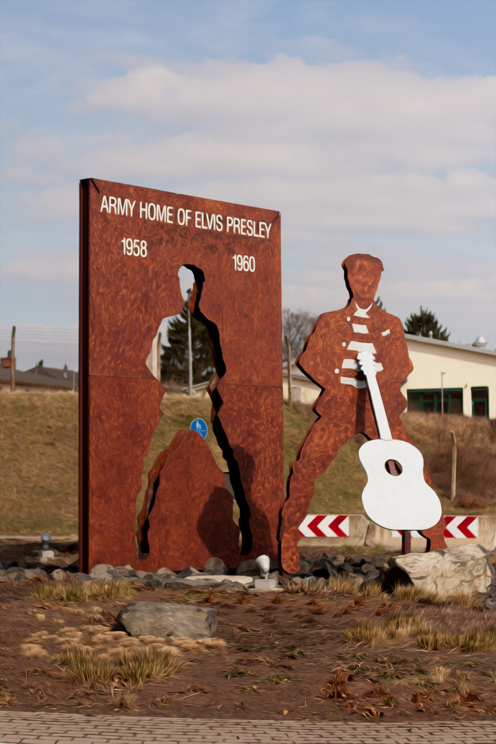 Elvis in Friedberg Hessen
