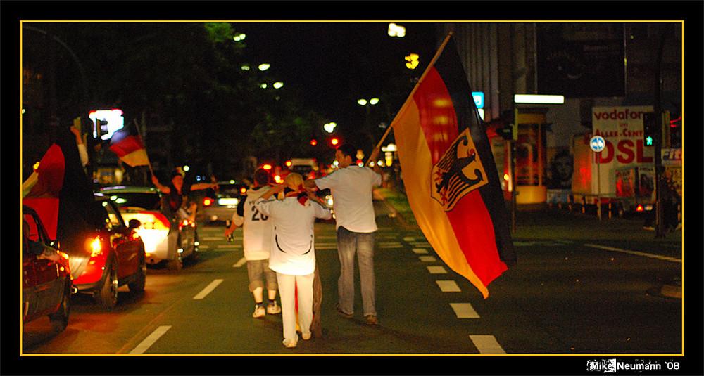 EM 2008 in Hamm (Westf.) - Halbfinale 1