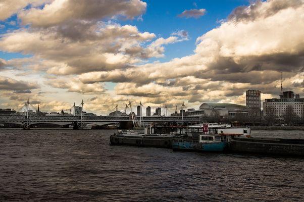 Embarquement sur Londres
