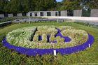 Emblem Schalke 04 auf dem neuen Friedhof