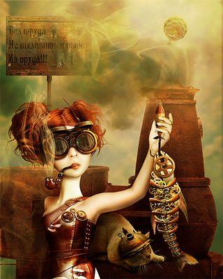 Emelya. Story - Steampunk