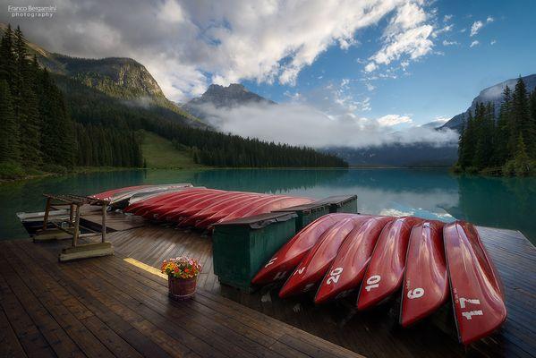 Emerald Lake Boathouse