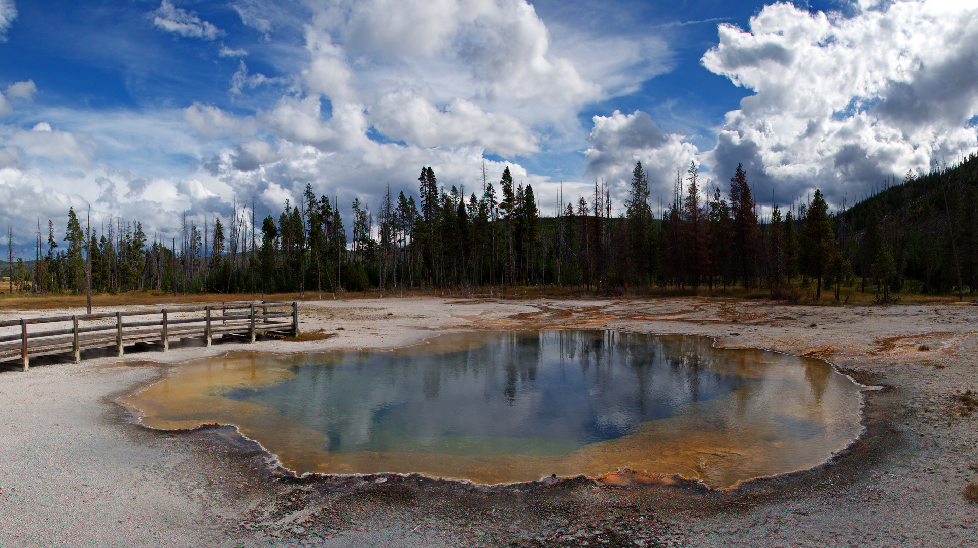 Emerald Pool im Yellowstone N. P.