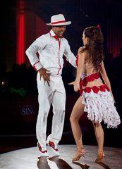 Emile Moise und Lena Gathmann - Salsa bei der WTG 2013 (2)
