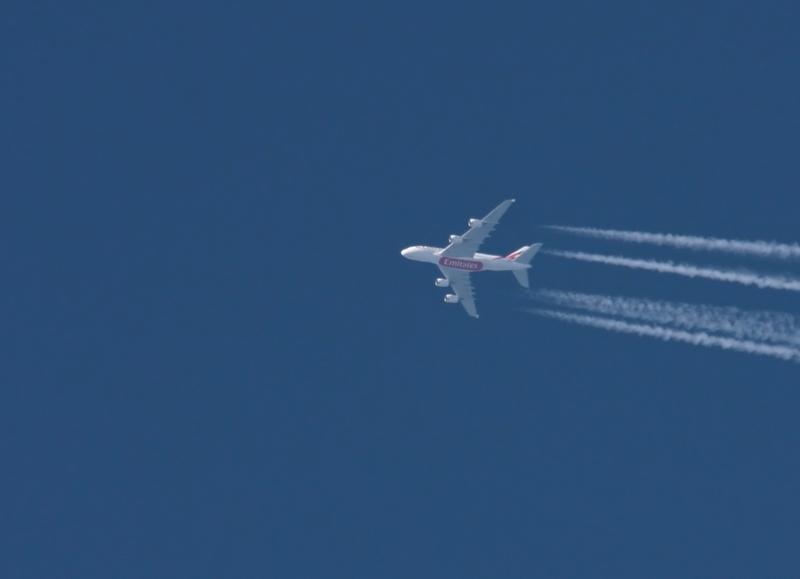 Emirates A380 Reiseflughöhe