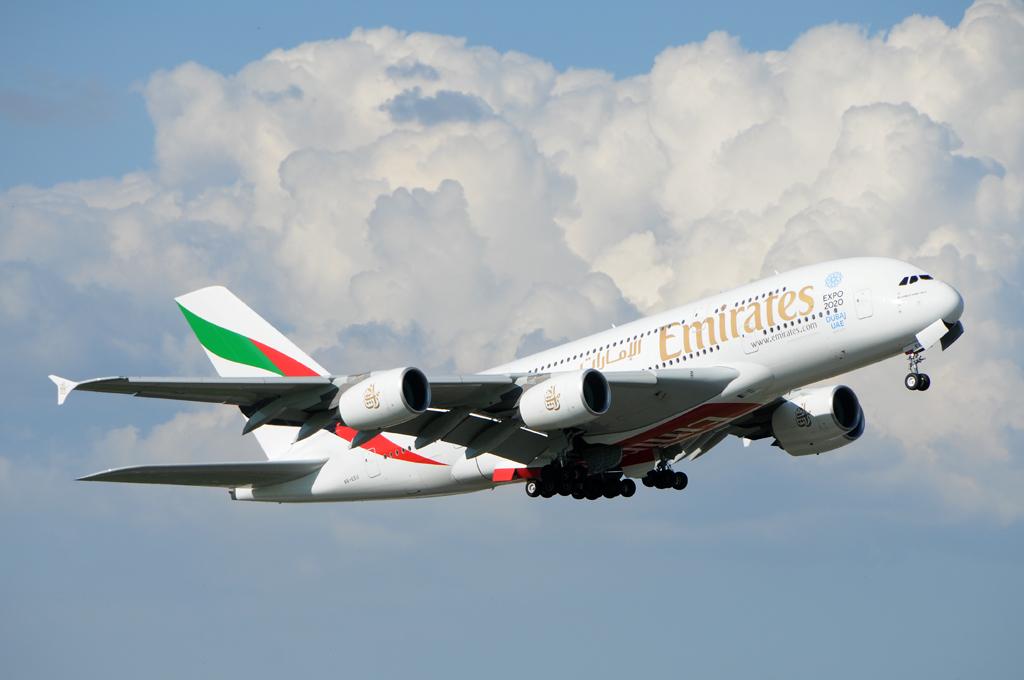 Emirates Airbus A-380