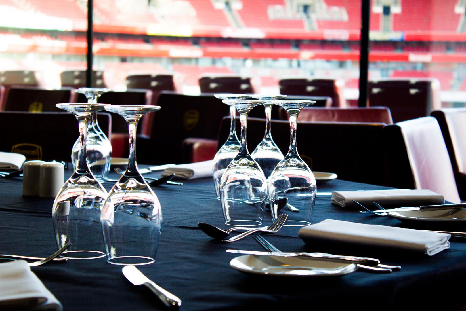 Emirates Arena - Dinner