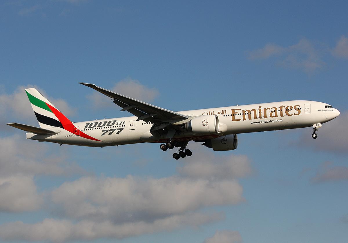 Emirates B777-300ER / A6-EGO