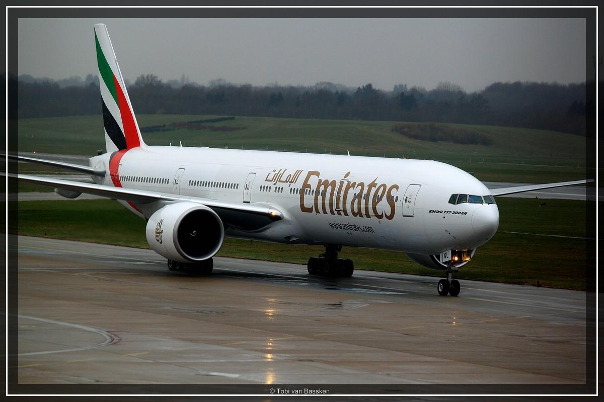 Emirates @ HAM Airport