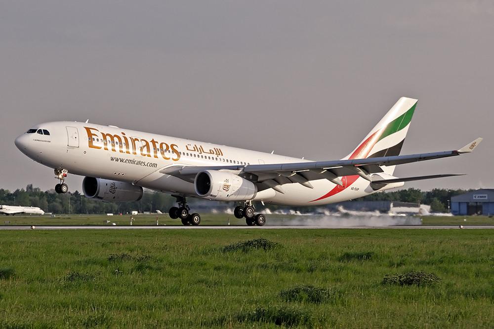 Emirates im letzten Licht....