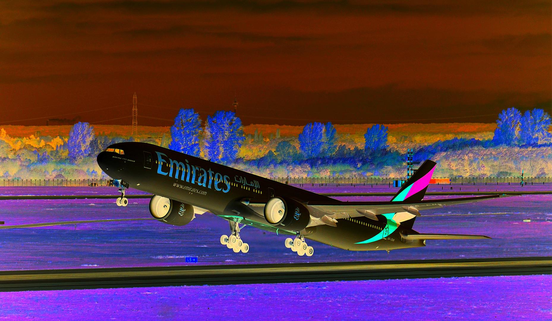 ...Emirates in Black